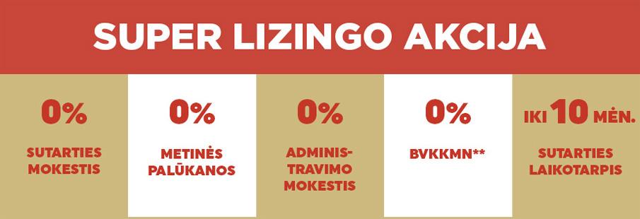lizingo akcija